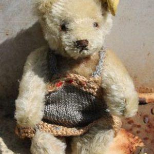 Steiff Original Teddy - Caramel 15cm Vintage