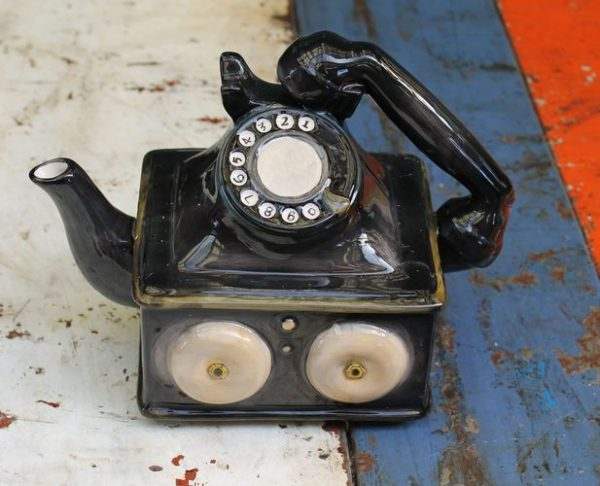 Telephone Teapot