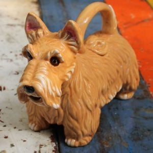 Terrier Brown Teapot