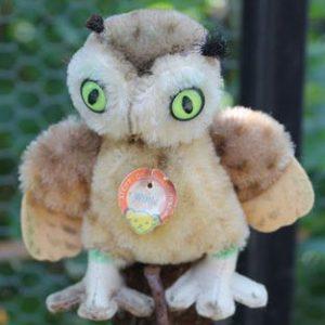 Steiff Wittie Owl – 10cm Vintage