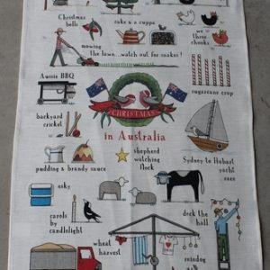Teatowel – Christmas in Australia