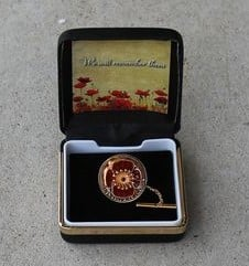 Poppy Tie Pin/Badge