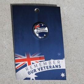 Badge – Remember Our Veterans