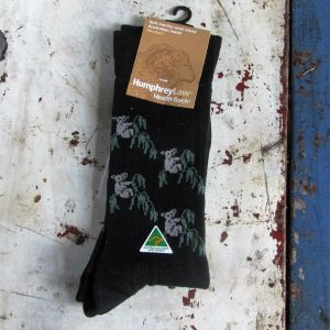 Socks – Koala Black