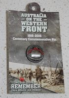 Lapel Pin – Western Front A.I.F.