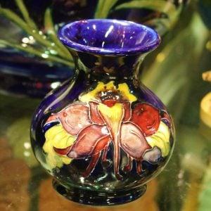 Moorcroft – Columbine Vase 1950's
