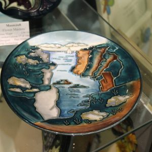 Moorcroft – 'Rock of Ages' Dish