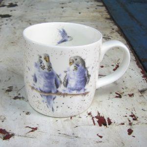 Mug – Budgerigars