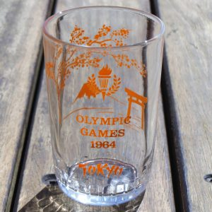 Tokyo Olympic Games 1964 Glass