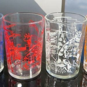 ETA Giraffe Glasses – Set of Four