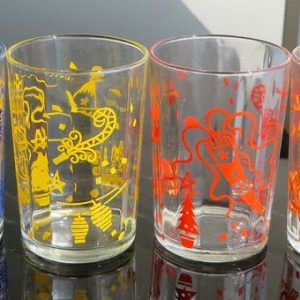 Cottee's Party Glasses – Set of Four