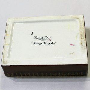 Carlton Ware Lidded Box – Kingfisher
