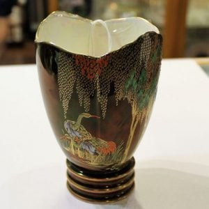 Carlton Ware Vase – Stork