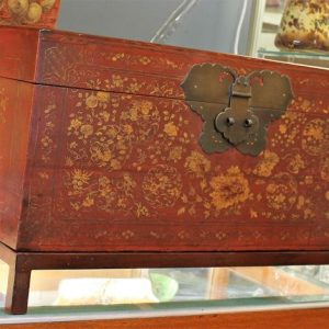 Japanese Wooden Chest