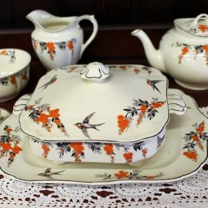Meakin Six Person Coffee & Tea Set