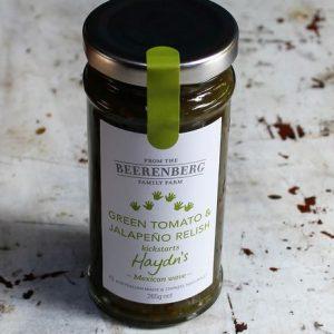 Green Tomato & Jalapeno Relish
