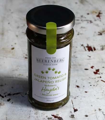 morpeth gourmet foods gift gallery hunter valley beerenberg green tomato jalapeno relish australian