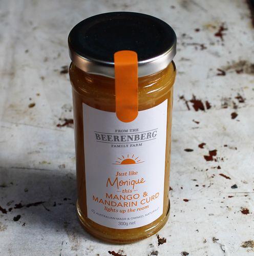 morpeth gourmet foods gift gallery hunter valley beerenberg mango mandarin curd butter spread australian