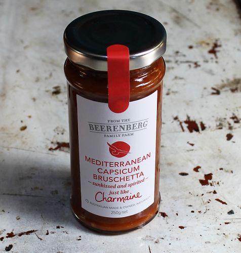 morpeth gourmet foods gift gallery hunter valley beerenberg mediterranean capsicum bruschetta australian