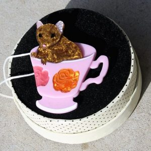 Erstwilder Brooch – An-Tea-Chinus (Marsupial Mouse)