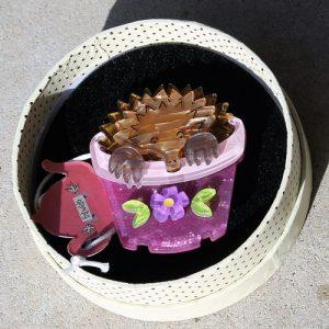 Erstwilder Brooch – Spiney Seedling (Echidna)