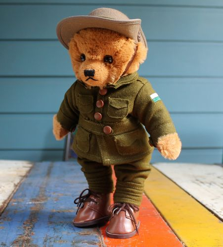 morpeth gift gallery hunter valley little digger anzac war memorabilia world one WWI australia great war teddy bear collectable