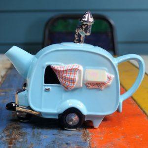 Teapot – Caravan – Pale Blue