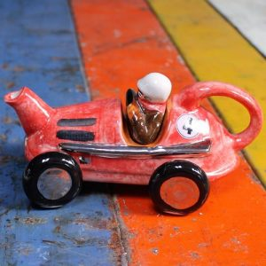 Teapot – Racing Car – Red