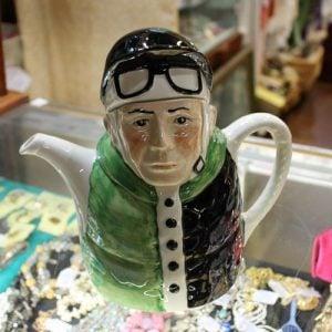 Jockey Teapot