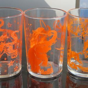 ETA Circus Animal Glasses – Set of Three