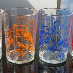 Kookaburra Glasses – Set of Four
