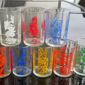 Kraft Australian Wildflower Glasses – Set of Eight
