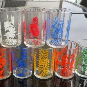 Kraft Australian Wildflower Glasses – Set of Eight