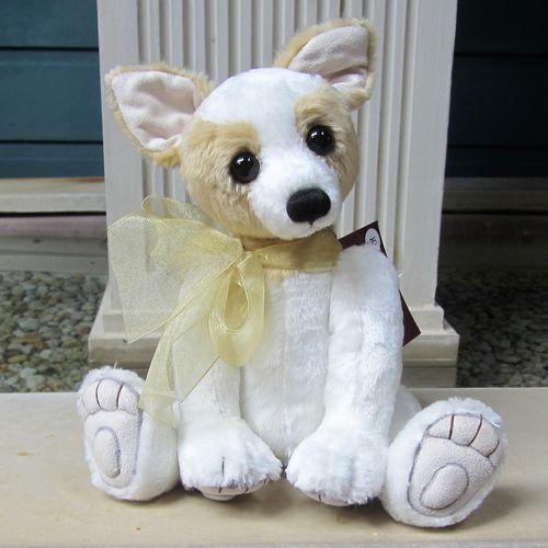 Morpeth Teddy Bears Charlie Bear plush Duchess Dog
