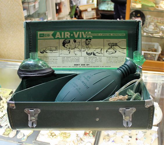 morpeth antique centre hunter valley air viva resuscitator medical surgical doctor equipment