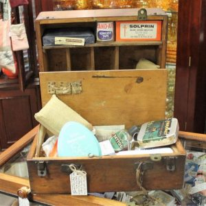 morpeth antique centre hunter valley vintage doctor bag medical kit supplies leather suitcase surgical instruments