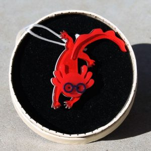 Erstwilder Brooch – Alex the Axolotl