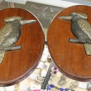Kookaburra Wall Plaque Pair