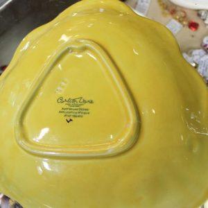 Carltonware Plate – Yellow Anemone