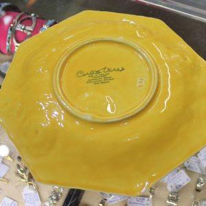 Carltonware Dish – Yellow Anemone