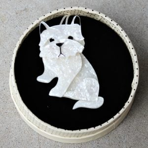 Erstwilder Brooch – Winston the Westie