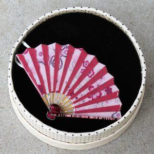 Erstwilder Brooch – Majestic Mai Ogi (Fan Pink)