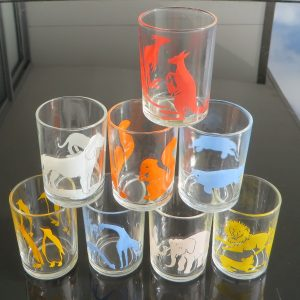 Swanky Swig Sample Glasses – Set of Eight
