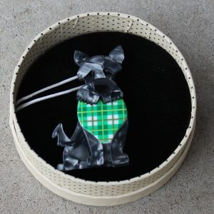 Erstwilder Brooch – Scooter the Scottie (Dog)