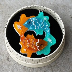 Erstwilder Brooch – Pisces the Philanthropic
