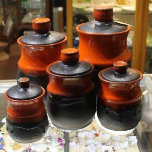 Ellis Pottery – Cannister Set of Five