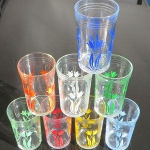 Swanky Swig Glasses Set of Eight – Tulips