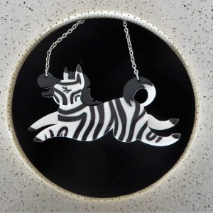 Erstwilder Necklace – Zebra Crossing