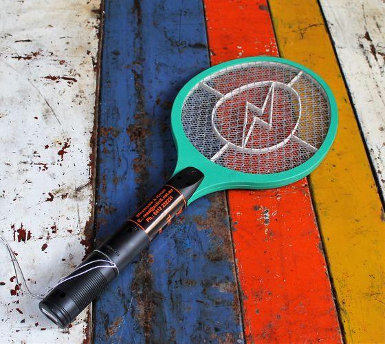 morpeth gift gallery hunter valley bug zapper fly swat rechargable tennis racquet indoor outdoor picnic beach safe environmentally friendly
