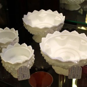 Fenton American Glass Vase Pair